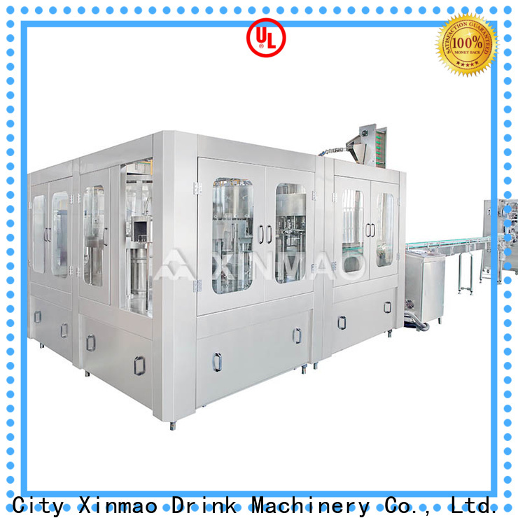 Xinmao drink small juice filling machine supply for juice