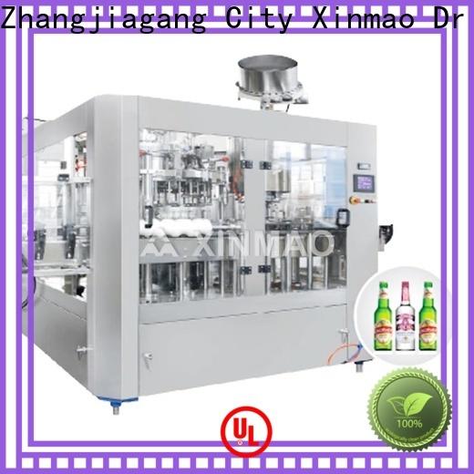 Xinmao filling beer bottling line factory for beer bottle