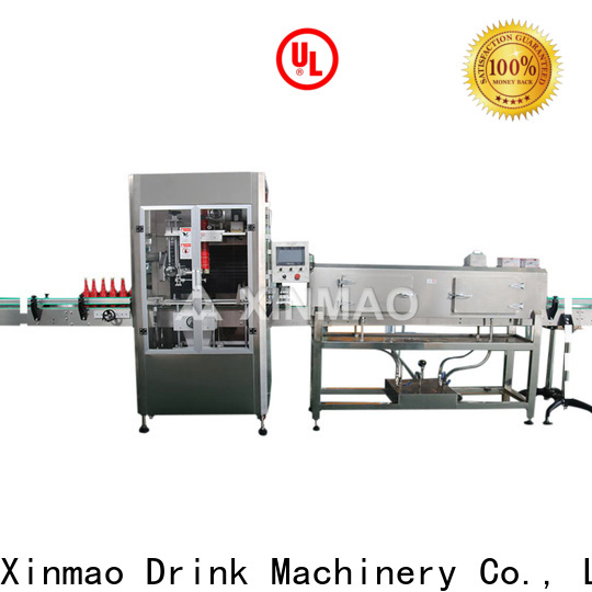 Xinmao automatic bottle labeling machine manufacturers for factory
