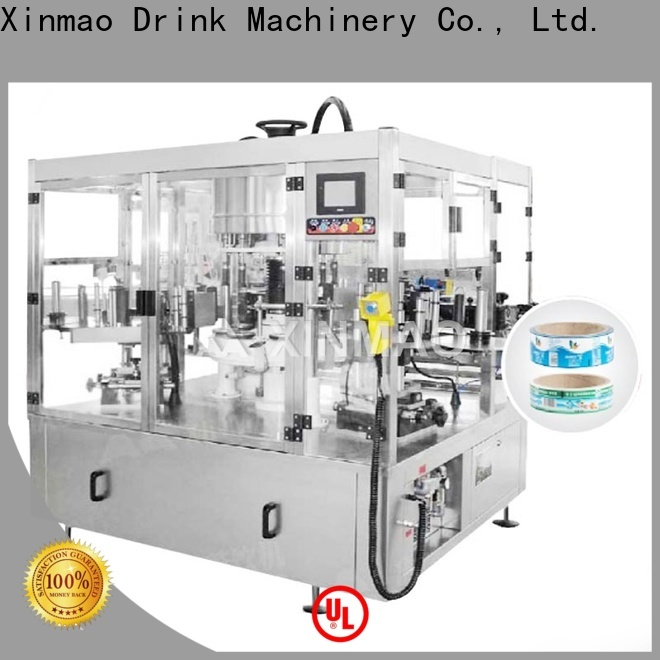 Xinmao latest jar labeling machine supply for bottle