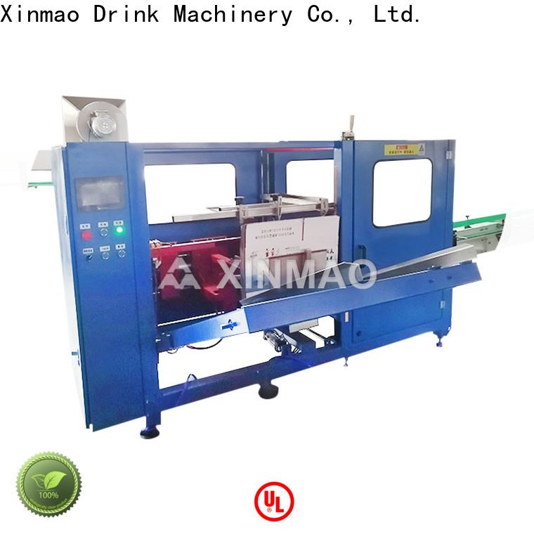 Xinmao introduction carton box packaging machine suppliers for factory