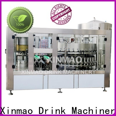 Xinmao drink soda can filling machine factory for soda