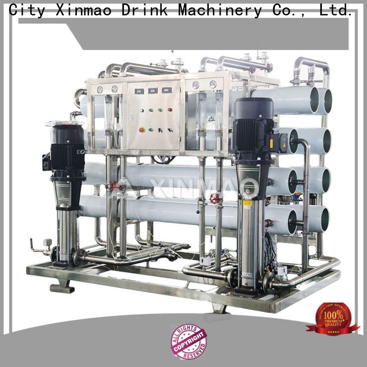 Xinmao treatment water plant machine cost factory for factory