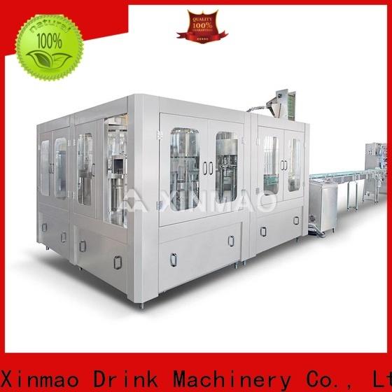 Xinmao machine bottle filling machine supply for pet bottle