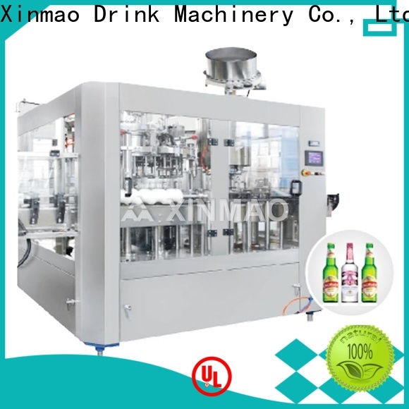 Xinmao high-quality beer filling machine factory for beer
