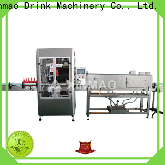 Xinmao machine wine bottle labeling machine manufacturers for bottle