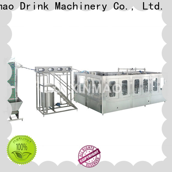 Xinmao glass soda packing machine suppliers for carbonated drink