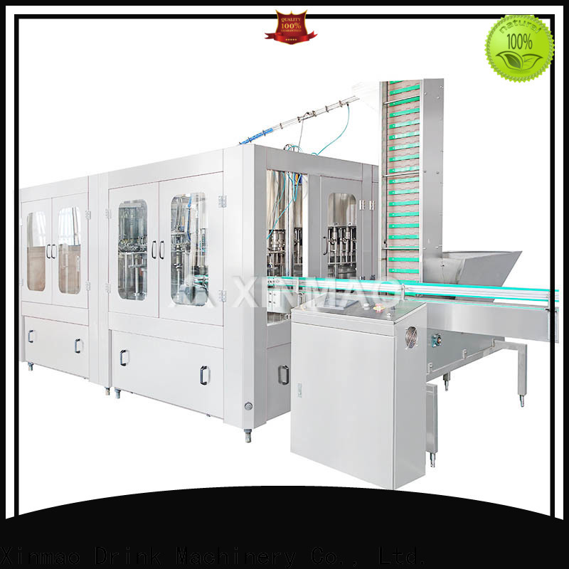 Xinmao filling carbonated beverage machine for business for carbonated drink