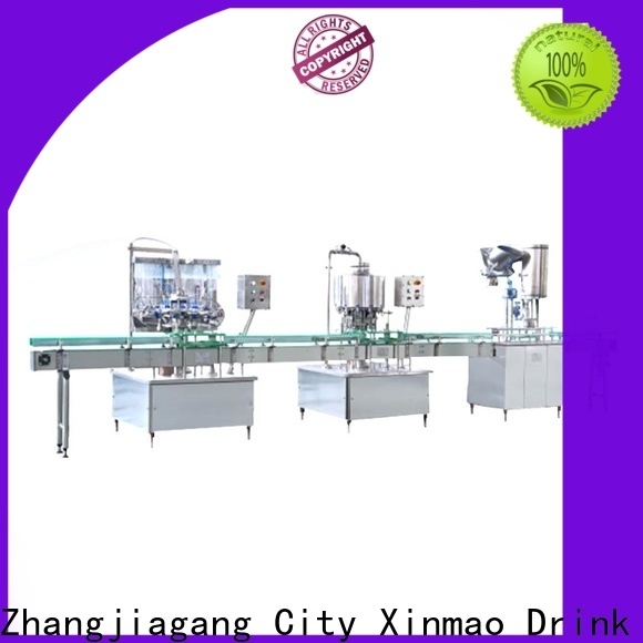 Xinmao top filling machine liquid suppliers for water jar