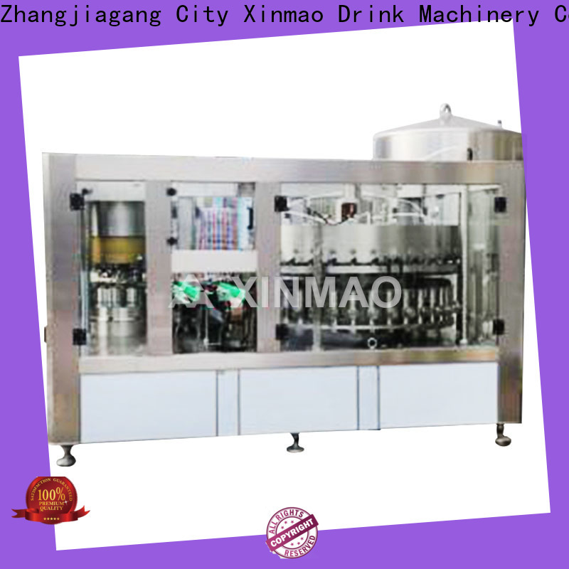 Xinmao latest beer bottle filling machine company for beer
