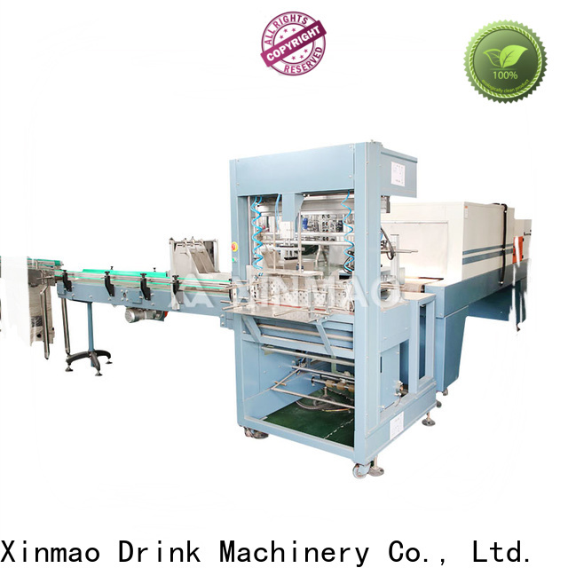 New packaging machinery charter company for bererage