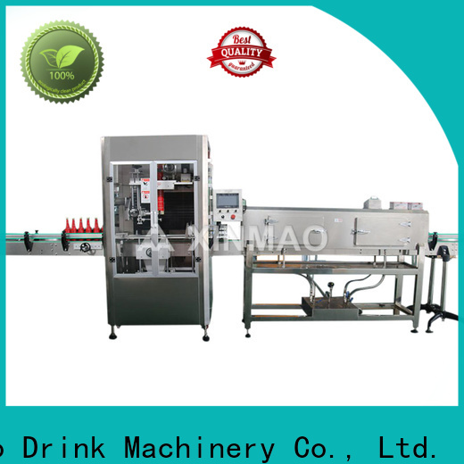 Xinmao top filling and labeling machines for business for water bottle