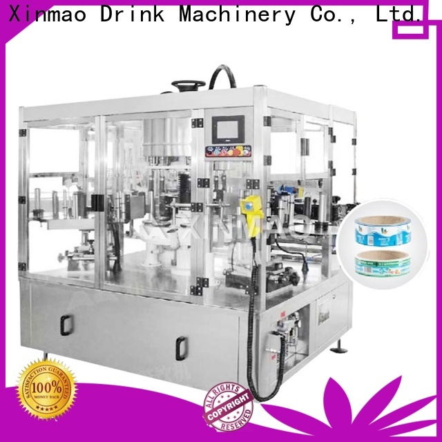 Xinmao automatic small bottle labeling machine factory for plastic bottles
