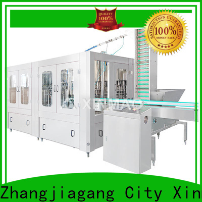 Xinmao custom carbonated bottling equipment for sale for soft drink