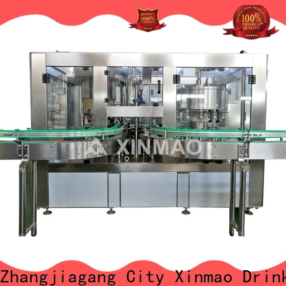 Xinmao drink fruit juice filling machine suppliers for fruit juice