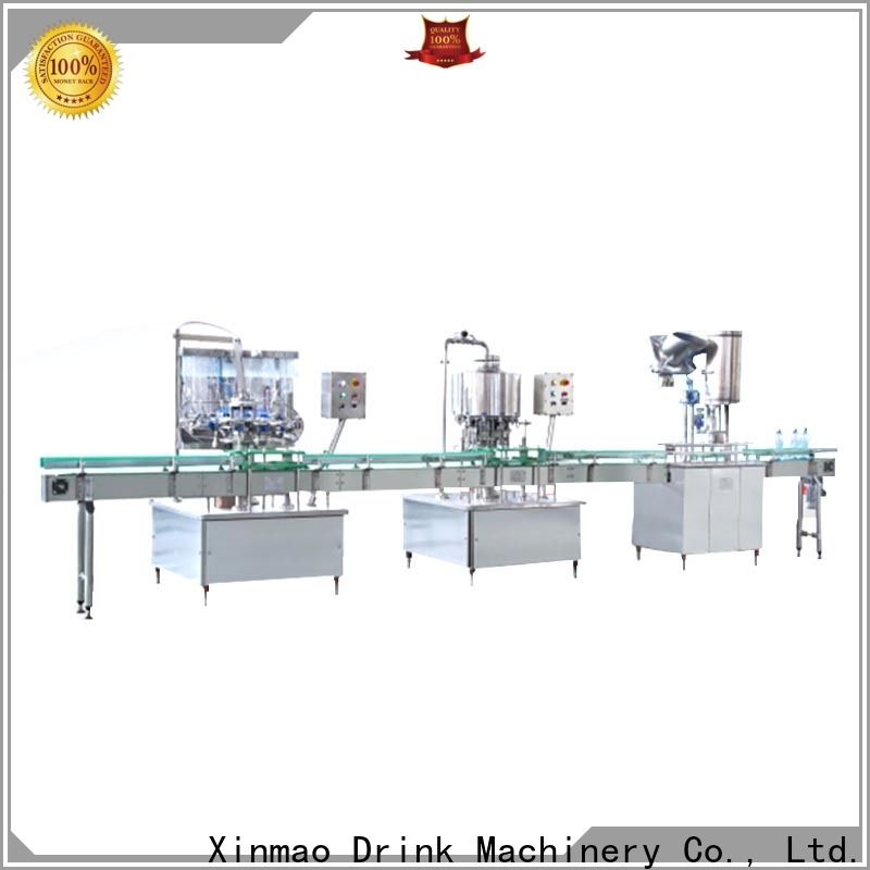 Xinmao filling automatic filling machine water company for pet bottle