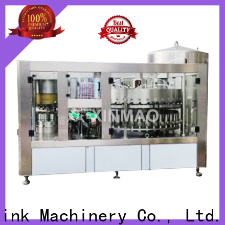 Xinmao automatic automatic beer filling machine supply for factory