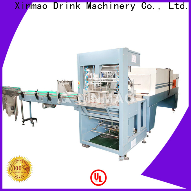 Xinmao New packaging equipment for sale for bererage