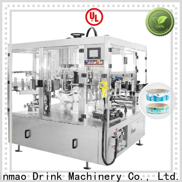Xinmao New sleeve labeling machine factory for water bottle