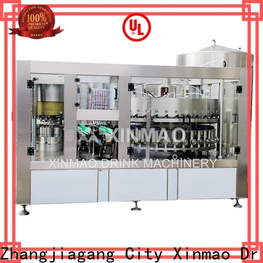 Xinmao can carbonated water machine factory for soft drink