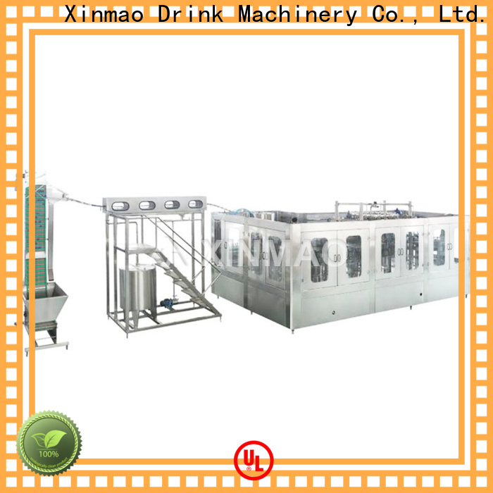 Xinmao 5l jar packing machine company for water bottle