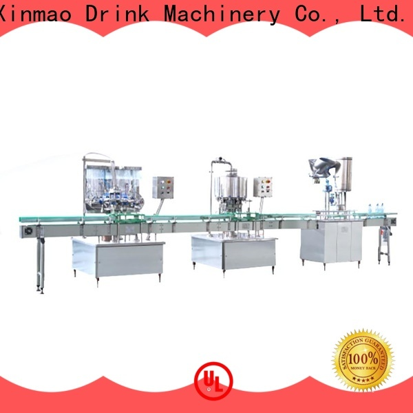 Xinmao bottle plastic glass water filling machine for sale for water jar
