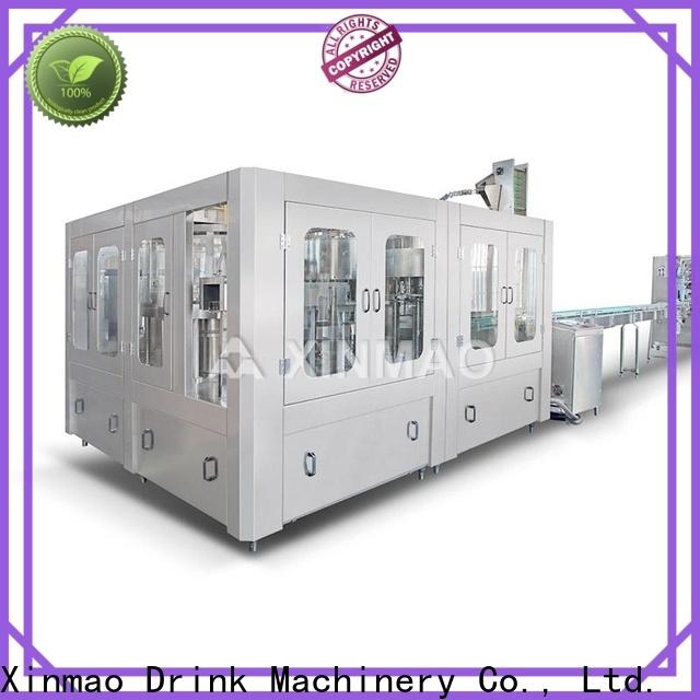 Xinmao big jar packing machine company for pet bottle