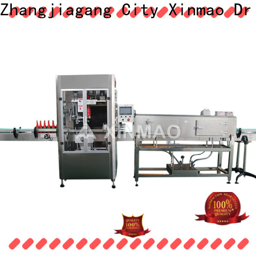 Xinmao New plastic bottle labeling machine for business for factory