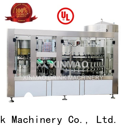 Xinmao wholesale small carbonated drink filling machine manufacturers for soda