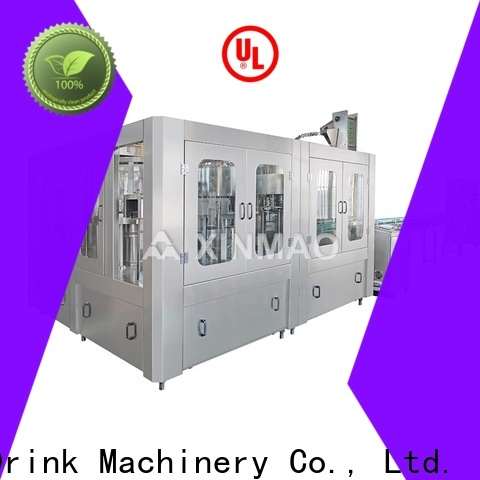 Xinmao threeinone drinking water bottling plant for sale for factory