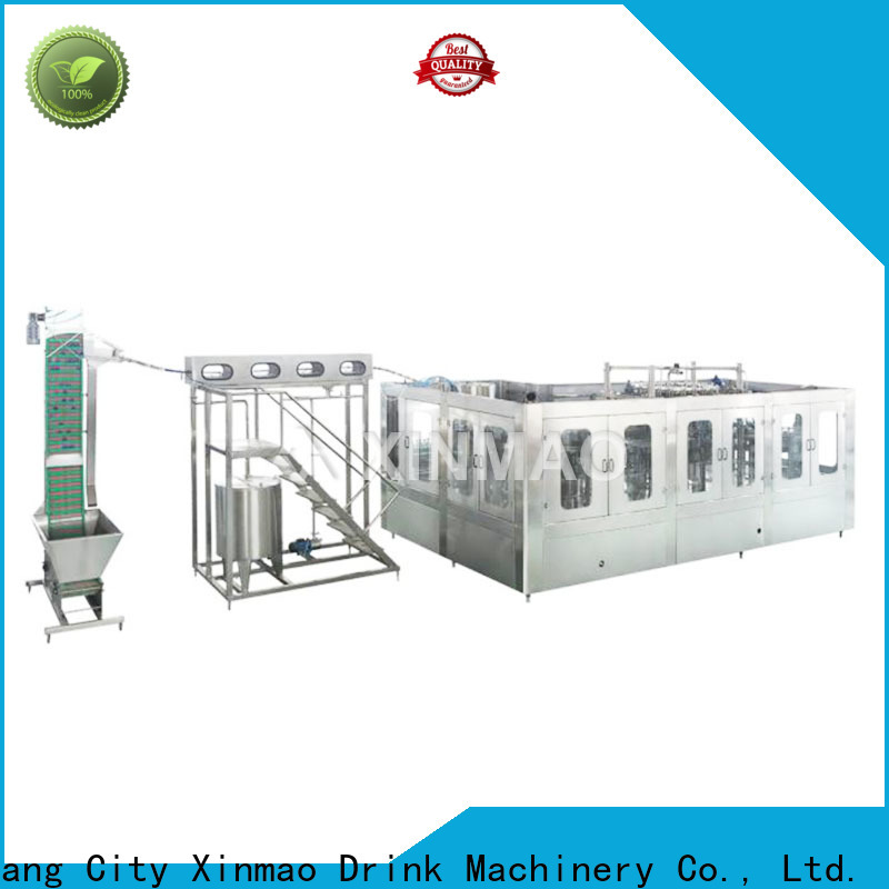 Xinmao drinking fully automatic bottle filling machine supply for pet bottle