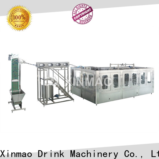 Xinmao custom monoblock filling machine factory for juice