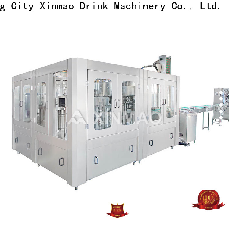 Xinmao automatic juice packaging equipment factory for juice