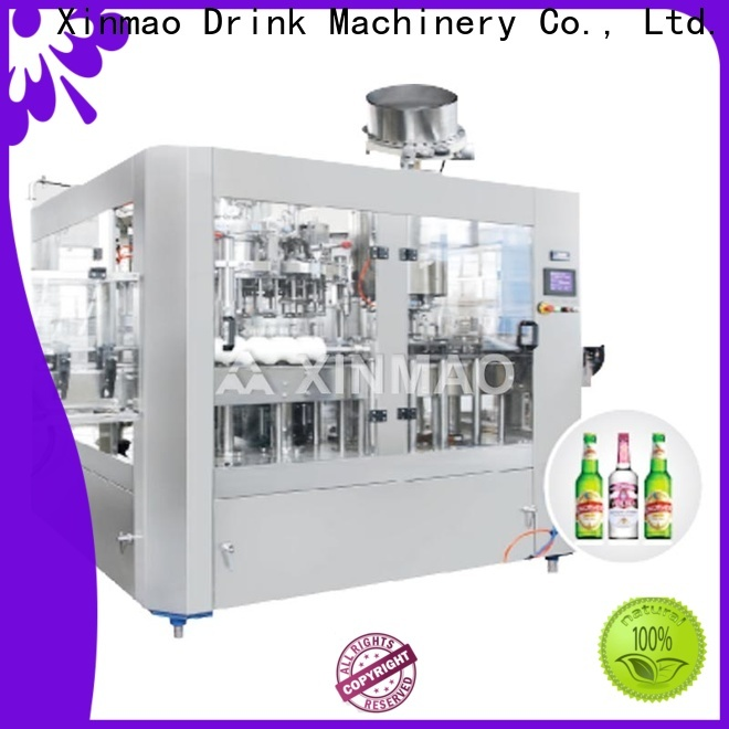 Xinmao line beer bottling equipment suppliers for factory