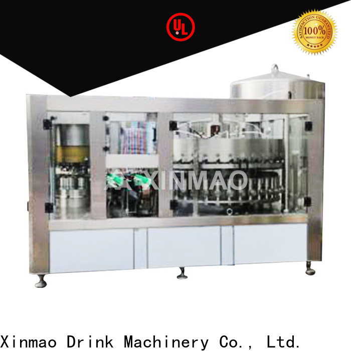 Xinmao line automatic beer filler suppliers for beer