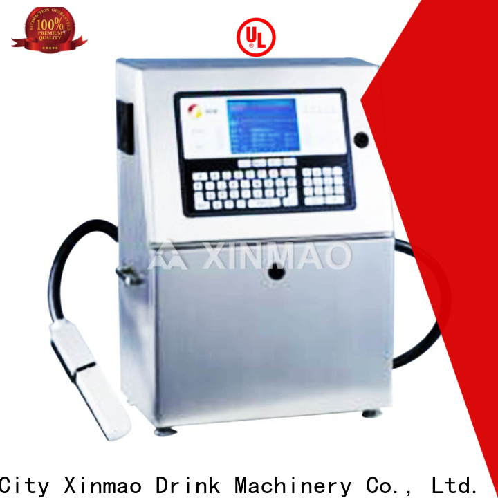 Xinmao best date printing machine for bottles company for plastic bottle