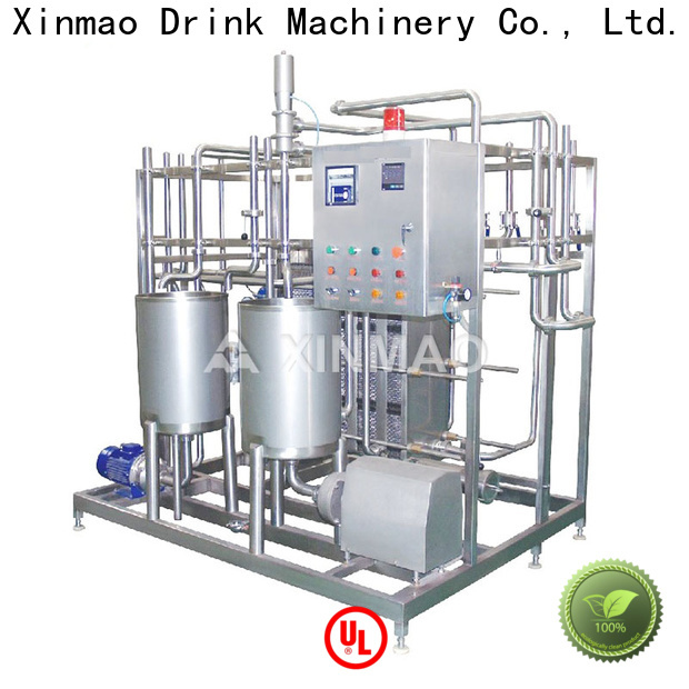 Xinmao steam juice bottling plant suppliers for carbonated soft drink