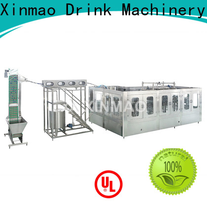 Xinmao carbonated small carbonated drink filling machine suppliers for soft drink