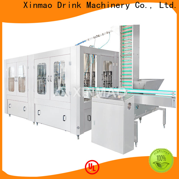 Xinmao drink soda water filling machine manufacturers for soda