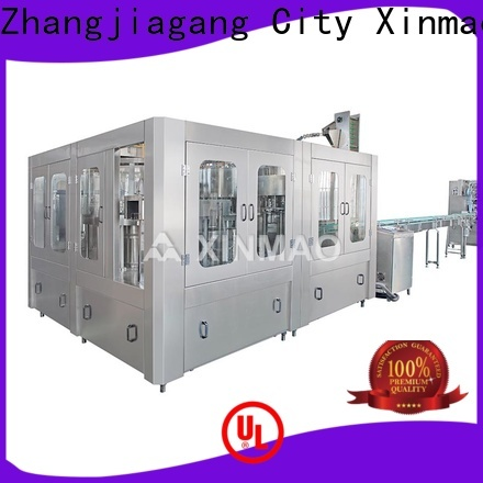 Xinmao automatic automatic mineral water bottle filling machine supply for water bottle
