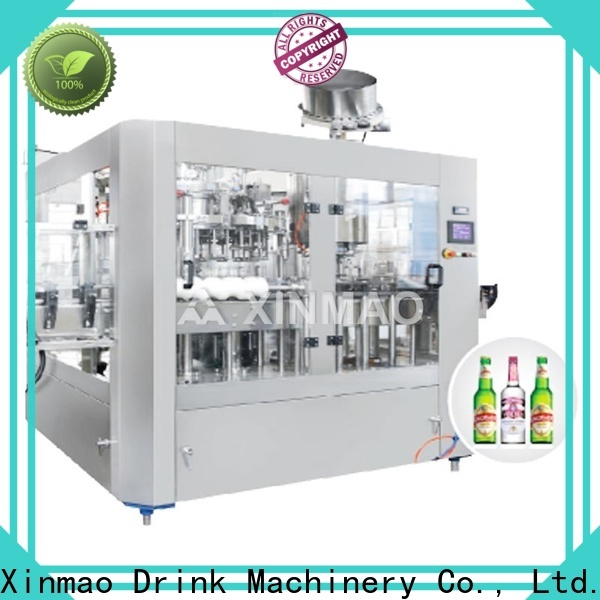 Xinmao machine automatic beer bottle filler suppliers for beer can