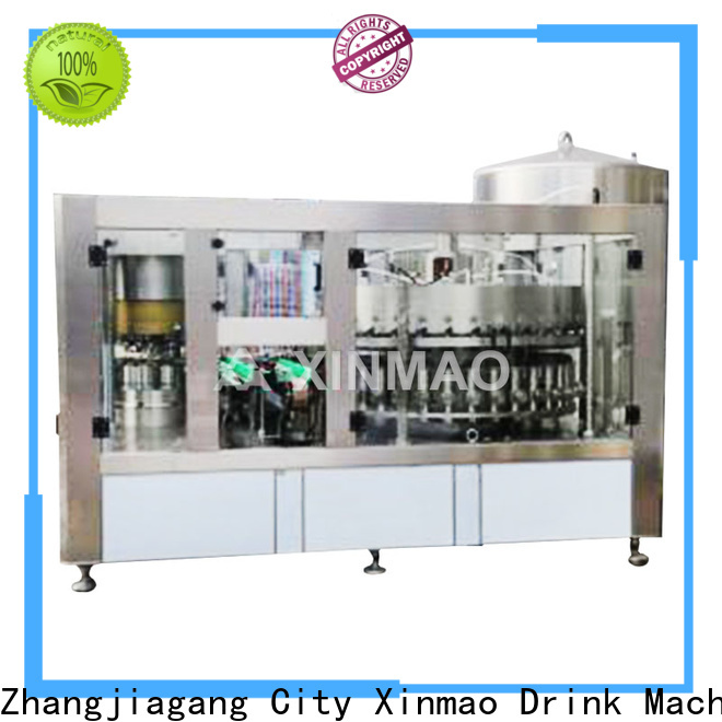 Xinmao high-quality beer bottle filling machine company for beer bottle