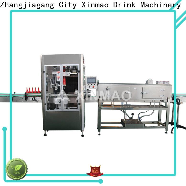 Xinmao selfadhesive label printing machine supply for bottle