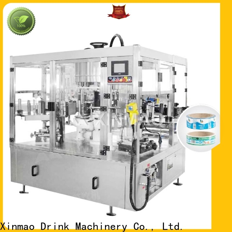 Xinmao best plastic bottle labeling machine company for plastic bottles