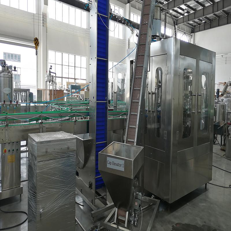 The QGF-300 5 gallon bottle water washing