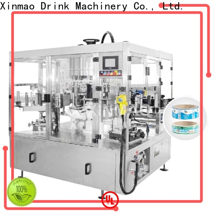 Xinmao automatic mineral water bottle labeling machine suppliers for bottle