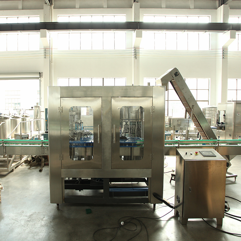 carbonated drink filling and packing line