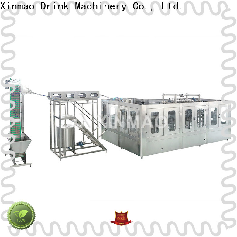 Xinmao carbonated carbonated beverage bottling equipment for business for soda