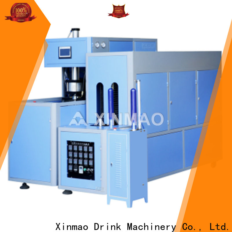 Xinmao machine semi automatic pet blowing machine factory for juice