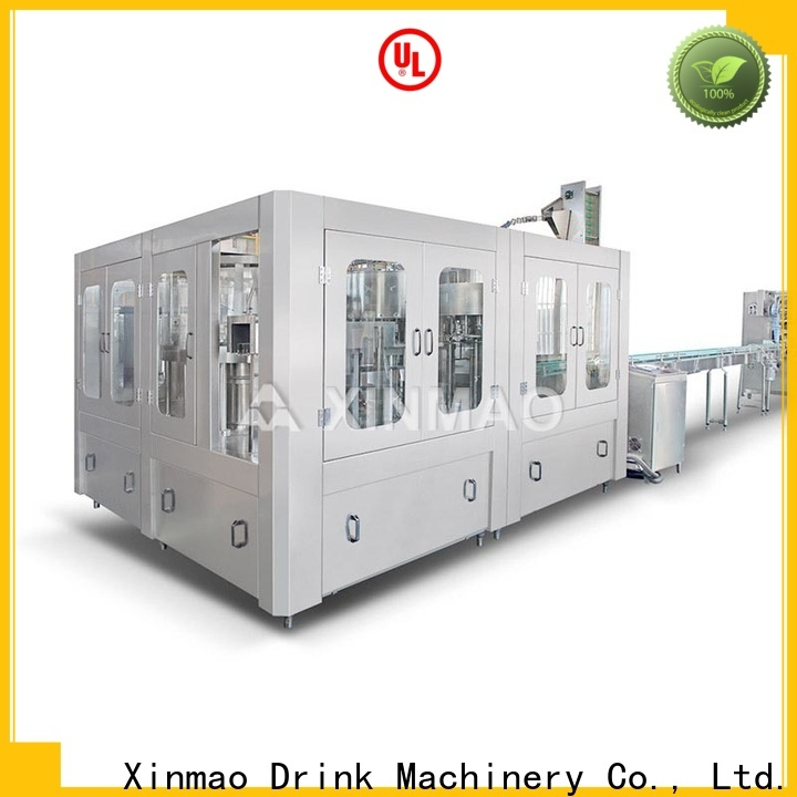 Xinmao New water packaging machine suppliers for mineral water